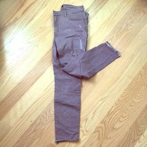 Light purple jeans / EXPRESS